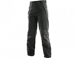 Unisex softshell kalhoty BOSTON, černé