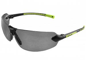 Brýle CXS FOSSA, černo-zelené, kouřový zorník