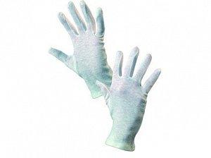 Textilní rukavice FAWA, bílé, vel. 06