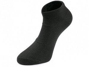 Ponožky CXS NEVIS, nízké, černé