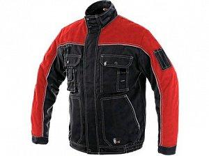 Blůza CXS ORION OTAKAR, zimní, pánská, černo-červená
