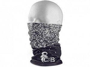 Šátek multifunkční CXS TOBY, zimní, dětský, 23x33cm, černo - bílý