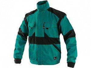 Blůza CXS LUXY HUGO, zimní, pánská, zeleno-černá