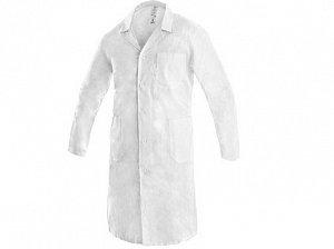 Pánský plášť ADAM, bílý