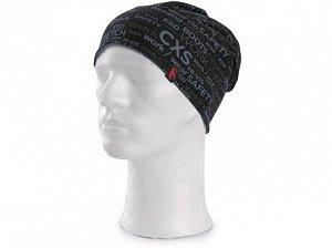 Čepice CXS DARREN, potisk CXS logo, černo-šedá
