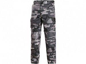 Kalhoty CXS VENATOR, pánské, černo - šedé (maskáčové)