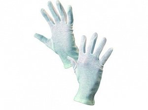 Textilní rukavice FAWA, bílé, vel. 09