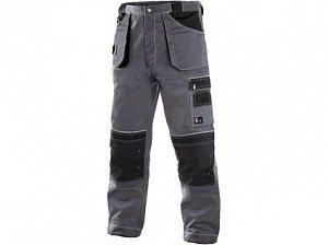 Kalhoty do pasu CXS ORION TEODOR, zimní, pánské, šedo-černé
