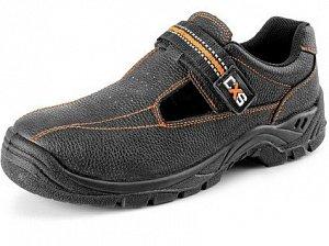 Obuv sandál CXS STONE NEFRIT S1, černý