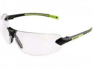 Brýle CXS Fossa, černo-zelené, čirý zorník