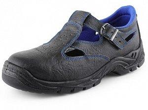 Obuv sandál CXS DOG TERRIER S1, černo-modrý