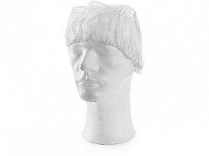 Jednorázová čepice CXS MAGDA, bílá