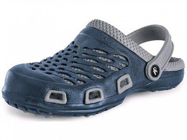 Obuv nazouvák CXS TREND, pánský, modro-šedý